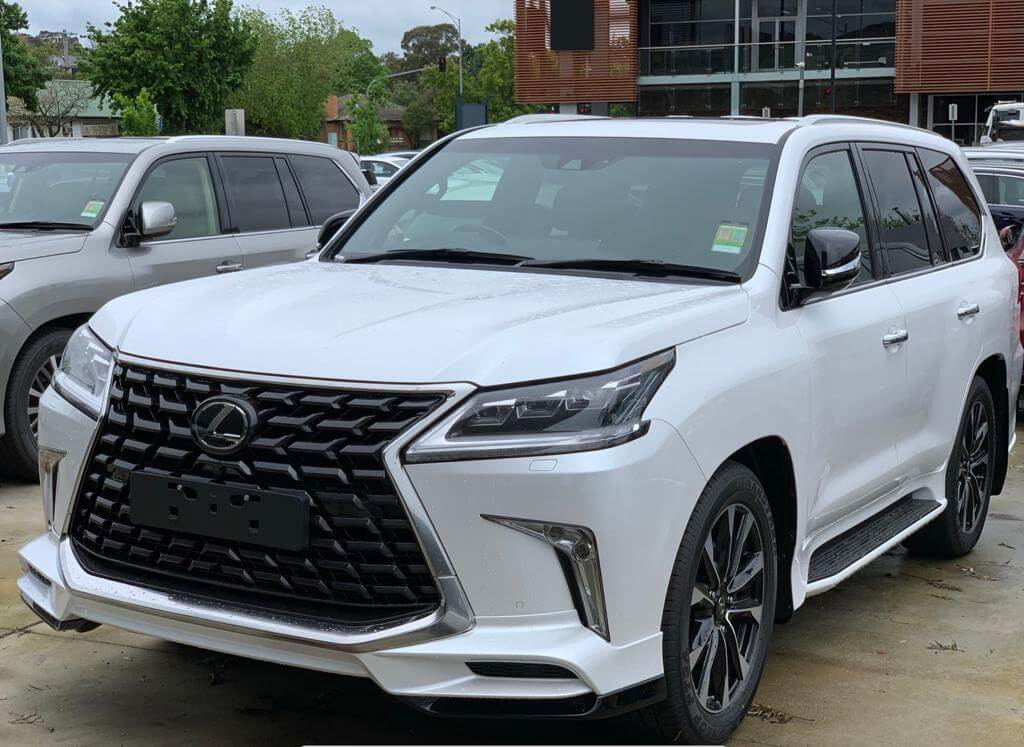 Brand New Face Lifted 2021 Lexus Lx570s 4 4 Crossover Suv Petrol Japan Automatic Gsat Jp